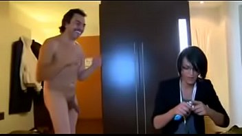 Uk tranny - Small tits tranny fucked by two guys in hotel