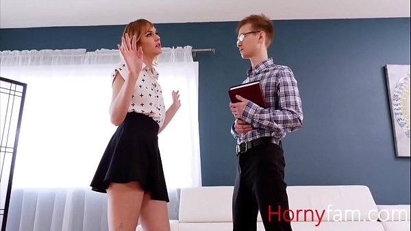 Christian brother gets fucked by slutty stepsister