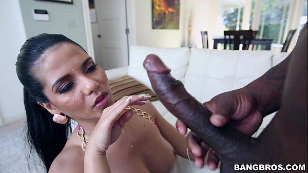 Thick Latina Rose Monroe Fucks with a BBC