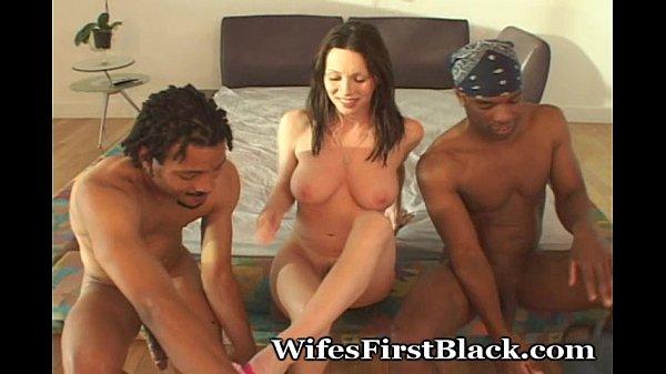Brunette Wifey's 1st Black Encounter