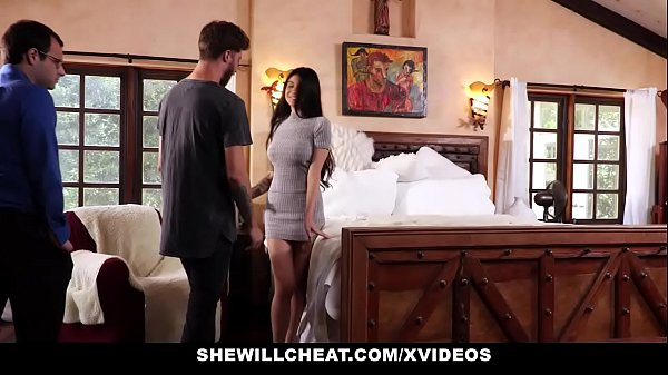 SheWillCheat - Unhappy Wife Fucks Her Boytoy In...