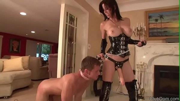 Mistress Fucks with Strap On
