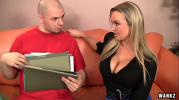 WANKZ- Horny Blond Hottie Abbey Brooks