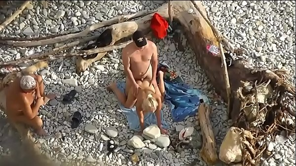 Kama Sutra on the beach  Doggy-style