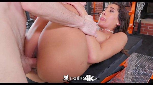 EXOTIC4K Latin Chloe Amour fucks big cock in the gym