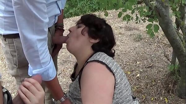 Italian slut fucked in front of her boyfriend and friends