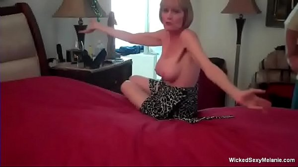 Mom Will Do Anything For Her Son