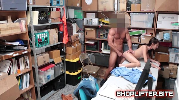 Carolina Sweets Blackmailed And Fucked By Store Detective