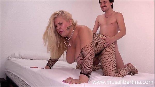 Busty Musa Libertina needs a young cock
