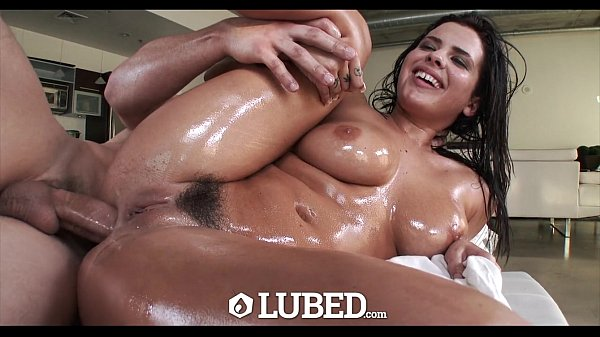 LUBED - Keisha Grey begs for lubed up anal fuck