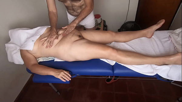 Relax massage with handjob and happy ending
