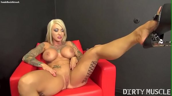 Female Bodybuilder Porn Star Dani Andrews Naked