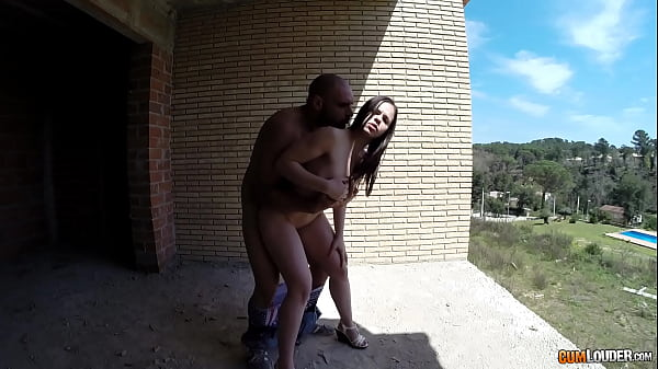 Beautiful Spanish Nekane gets fucked in public in an abandoned building