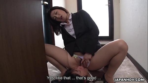 Japanese woman, Marina Matsumoto is moaning, uncensored
