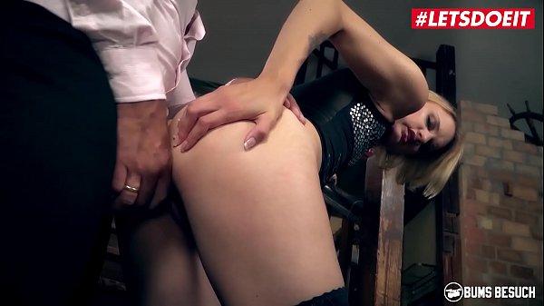LETSDOEIT - Curious Babe Sina Longleg Shoot Her Very First Porn Movie With Jean Pallett