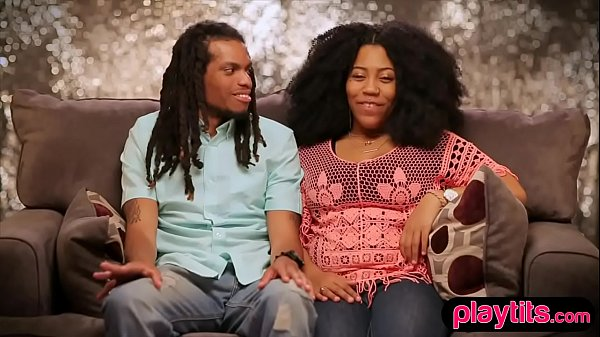 Open minded black couple going fort heir first ...