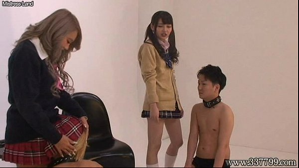 Japanese Femdom Face Trample and Humiliation Thumb