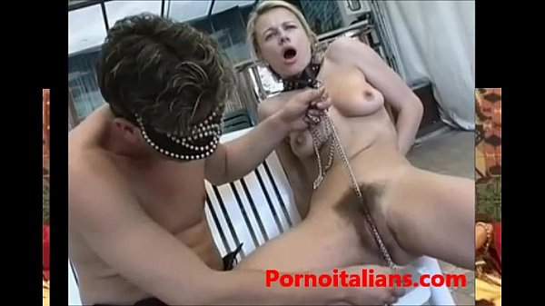 italian porn padrone scopa schiava bionda figa pelosa - italian porn mistress
