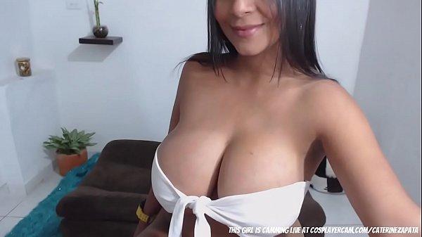 Big Boobs On This Latina Slut....