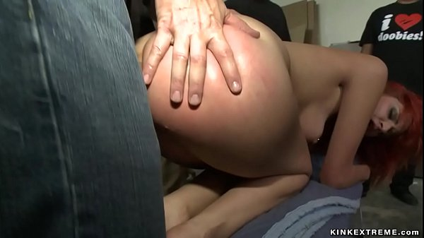 Redhead public anal and fist fucked Thumb