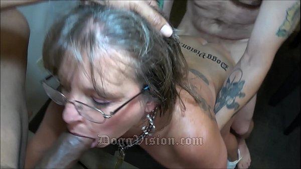 50y MILF Cougar Jules Tattoo Split Roast
