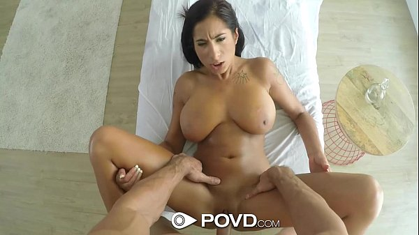 POVD - Stacy Jay's big rack wobbles when fucked POV style
