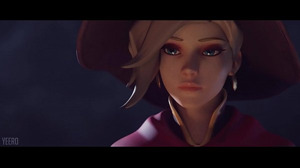Witch Mercy X Reaper Halloween Animation by Yeero