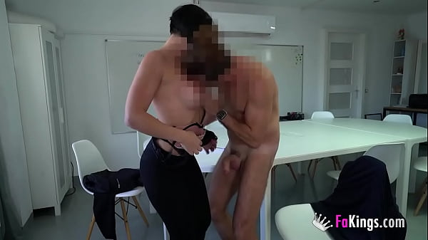 A spectacular teacher licks her best student's cock