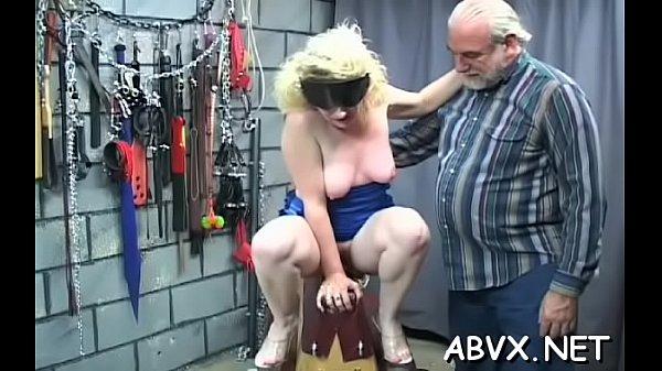 Bare chicks extreme bondage combination of real porn