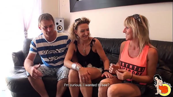 40yo milf Sylvie and Tonio, an amateur couple, ...