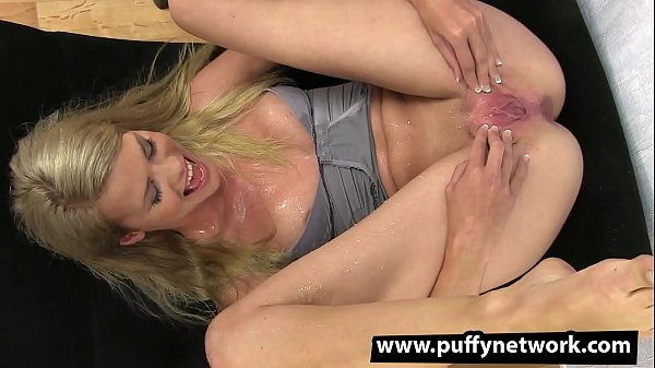 Piss Drinking - Drenched blonde gushes everywhere