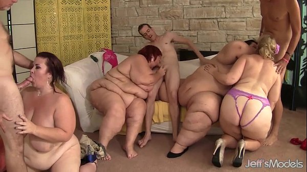 Fat and horny BBWs Amazon Darjeeling, Apple Bomb, Lady Lynn and Sweet Cheeks har
