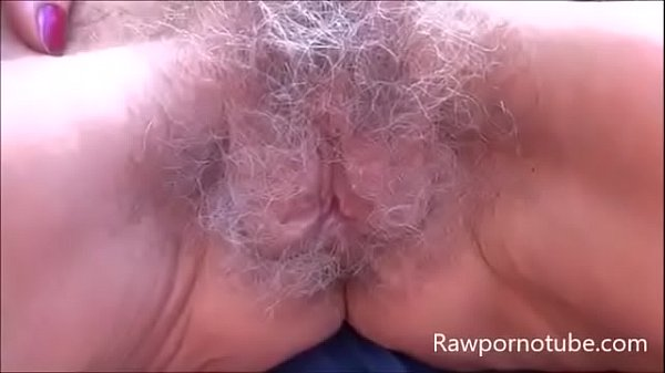 Hairy Grey Pussy