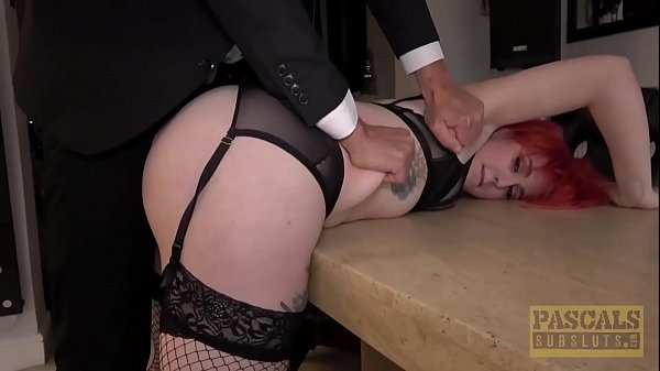 PASCALSSUBSLUTS - Redhead Olivia Kinks fucked to submission