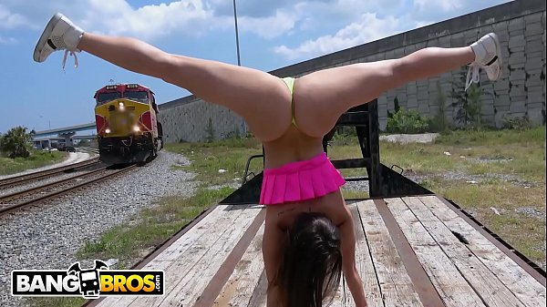 BANGBROS - PAWG Kelsi Monroe Flashes Her Big Ass Around Town And Fucks In Public