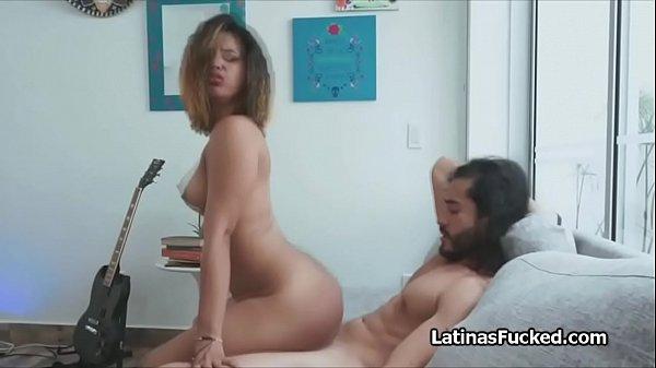 This perky Latina amateur loves a good hard fuck
