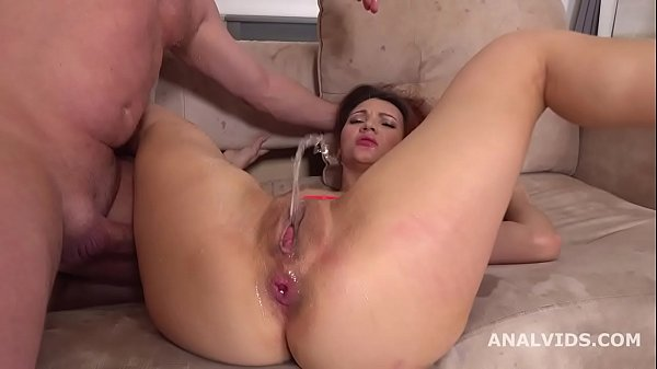 She is a Monster, Jasmine Waterfall welcome to Porn with Balls Deep Anal, DP, Gapes, Squirting and Cum in Mouth GL189