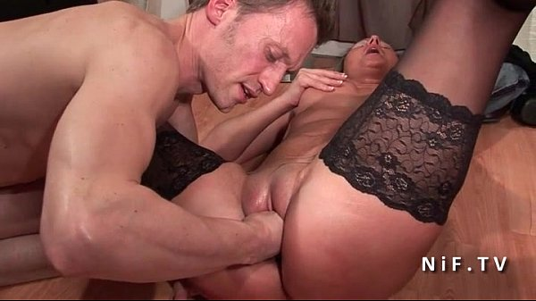 Amateur casting French mature hard double penet...