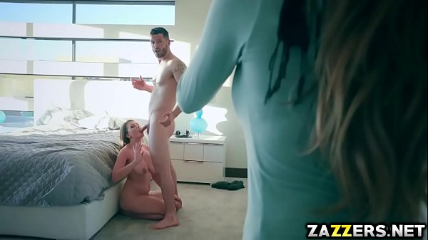 Ivy Rose goes cowgirl on Mike Mancinis cock