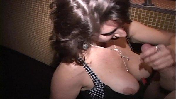 Hot MILF sucks stranger's cock as cuckold coaches-FULL video now on RED