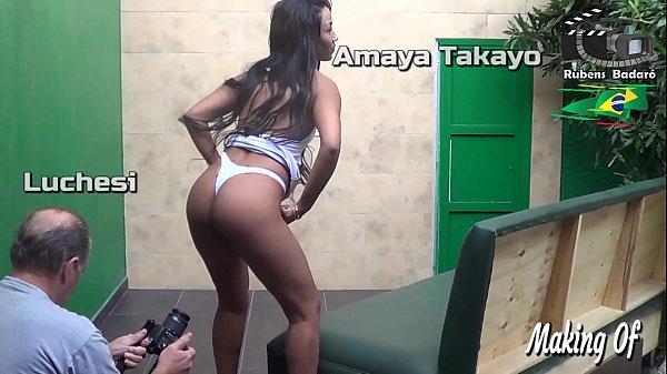 Making of Amaya Takayo atriz, production Rubens Badaro. (Full video in Xvideos Red) Thumb