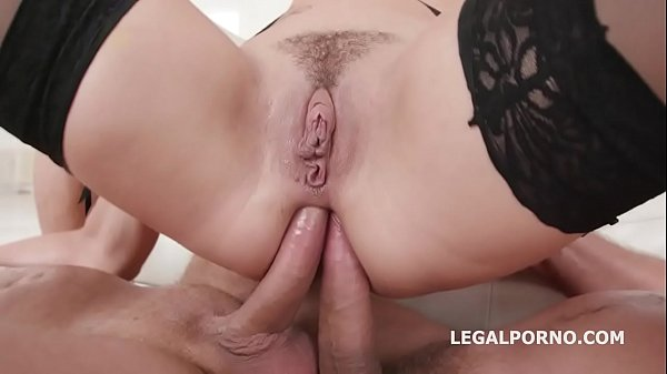 Charlotte Cross first time Double Anal with Bal...