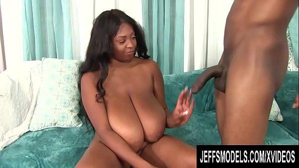 Chubby Black Goddess Rachel Raxxx Shows off Her...