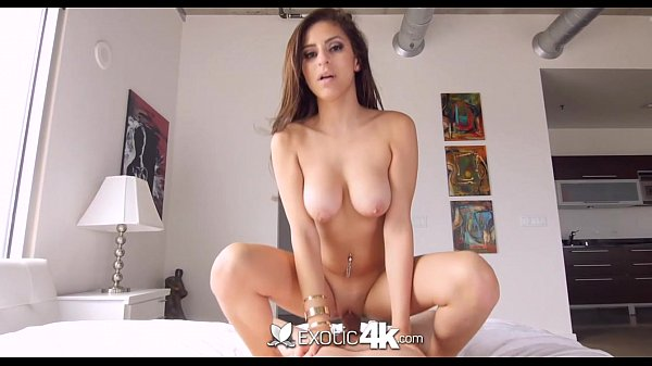 Exotic4K - Hot Latina Nina North oils up her huge tits