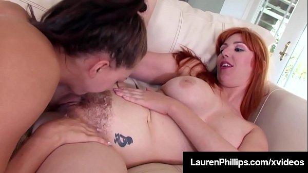 Lesbos Lauren Phillips & Kendra Cole Taste Their Wet Pussies