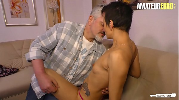 AMATEUR EURO - Skinny Housewife It's Cheating H...