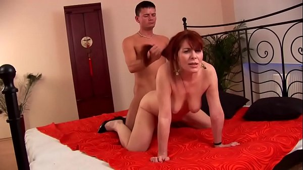 Mature hairy redhead 50plus fucked by y. guy