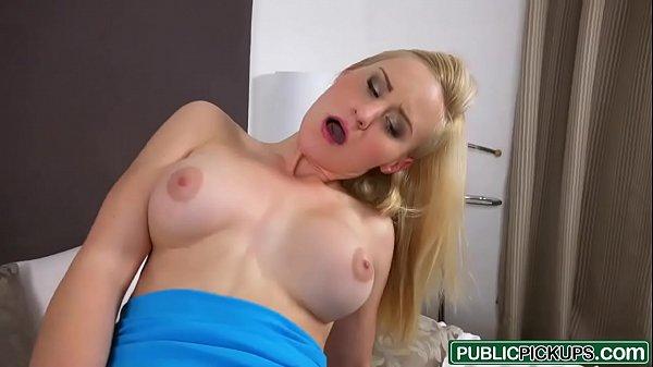 Mofos - (Helena Valentine) - Blonde Fucked Through Pantyhose Thumb