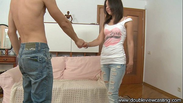 DOUBLEVIEWCASTING.COM - CUTE STASY IS BUSTED HARD