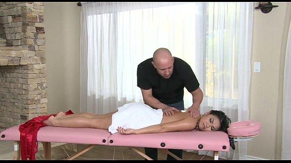 Cindy Starfall's massage gets a sexy turn